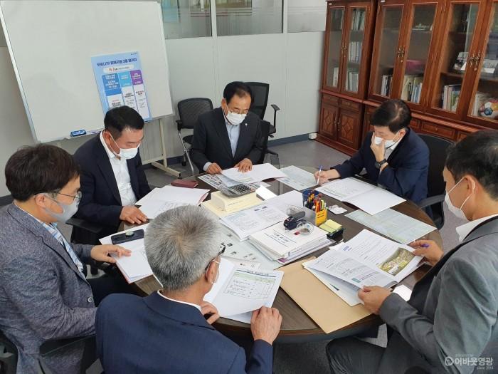 1.지난 26일, 김준성 영광군수는 지역현안 국고예산 확보를 위해 기재부와 국토부를 방문했다..jpeg