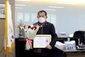 영광군의회 최은영 의장, 지방의정봉사상 수상