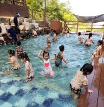 영광 물무산 행복숲 물놀이장 개장