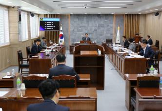 영광군의회 11월 23일 제2차 정례회 앞두고 간담회 개최