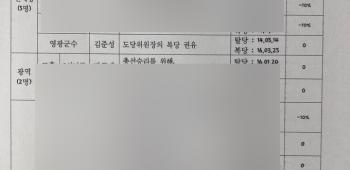 """김준성 군수예비후보자 """"경선감점"""" 없다"""