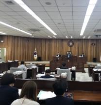 장기소부의장, '군의회 집행부 거수기 아니다'